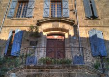 Huis in Vernoux Royalty-vrije Stock Foto