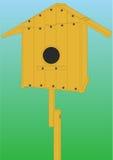 Huis voor de vogels. royalty-vrije illustratie