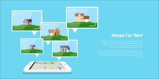 Huis voor huur Stock Fotografie