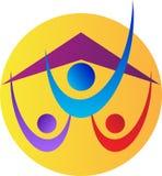 Huis voor mensen Vector Illustratie