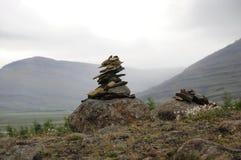 Huis voor sleeplijn in IJsland Royalty-vrije Stock Fotografie