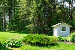Huis voor tuinmateriaal stock foto's
