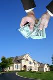 Huis voor verkoop Royalty-vrije Stock Afbeelding
