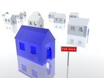 Huis voor verkoop vector illustratie