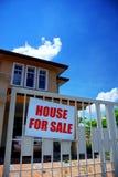 Huis voor verkoop Stock Fotografie