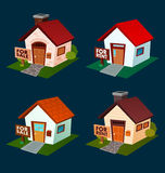 Huis voor verkoop en huur Royalty-vrije Stock Afbeeldingen