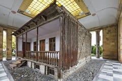 Huis waar Joseph Stalin in Gori, Georgië geboren was royalty-vrije stock foto's