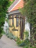 Huis in Ystad, Zweden Stock Foto's