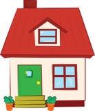 Huis zoet huis vector illustratie