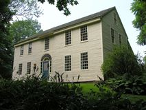 Huis in zomer Royalty-vrije Stock Afbeelding