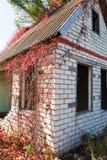 Huis zonder een dak Stock Afbeeldingen