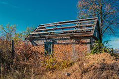 Huis zonder een dak Royalty-vrije Stock Afbeeldingen