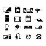 Huisapparaten stock illustratie