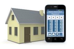 Huisautomatisering vector illustratie