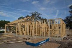 Huisbouw Royalty-vrije Stock Afbeeldingen