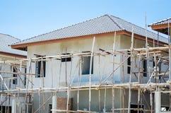Huisbouw Stock Foto's