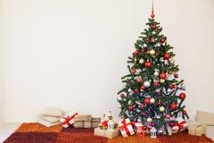 Huisdecor voor Kerstmis en nieuw jaar Stock Afbeeldingen