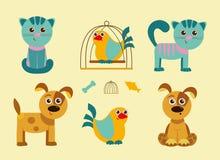 Huisdieren Royalty-vrije Stock Foto