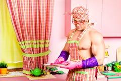 Huiselijke man Royalty-vrije Stock Afbeelding