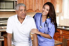 Huisgezondheidszorg royalty-vrije stock foto