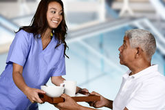 Huisgezondheidszorg stock fotografie