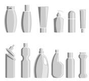 Huishoudenchemische producten Vector illustratie Stock Foto