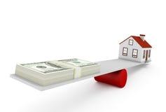 Huishypotheek Royalty-vrije Stock Afbeelding