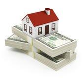 Huishypotheek Royalty-vrije Stock Foto's