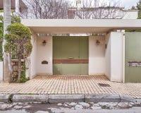 Huisingang, Athene Griekenland Stock Afbeelding