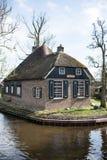 Huisje Giethoorn fotografie stock