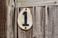 Huisnummer  Stock Afbeeldingen