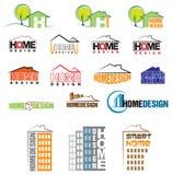 Huisontwerp vector illustratie