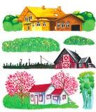 Huisverf vector illustratie