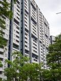 Huisvesten complex in Japan stock fotografie