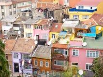 Huisvesting in voorsteden royalty-vrije stock afbeeldingen