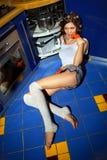 Huisvrouw Stock Foto