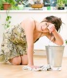 Huisvrouw stock fotografie