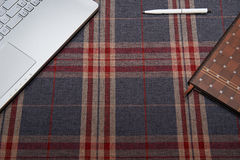 Huiswerkruimte, achtergrondkooi Royalty-vrije Stock Fotografie