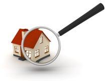 Huiszoeking stock illustratie