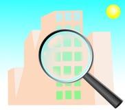 Huiszoeking, onderzoek Stock Afbeeldingen