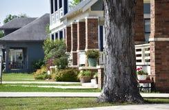 huizen royalty-vrije stock afbeelding