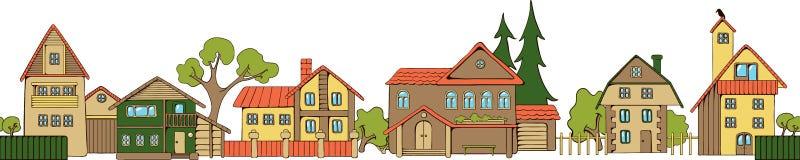 Huizen Stock Afbeelding
