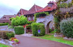 Huizen in Aquitaine Royalty-vrije Stock Foto's