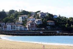 Huizen in Biarritz royalty-vrije stock foto