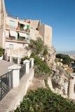 Huizen in Castello stock foto