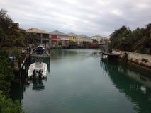 Huizen in de Bahamas stock foto's
