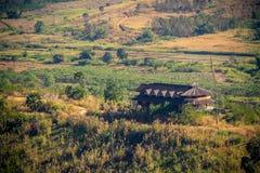 Huizen in de bergen Royalty-vrije Stock Foto