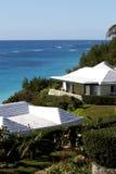 Huizen in de Bermudas Stock Afbeelding