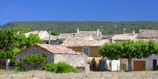 Huizen in de Provence Royalty-vrije Stock Foto's