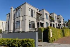 Huizen in de stad Stock Fotografie